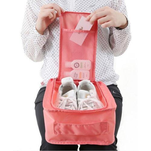 Waterproof Travel Shoe Bag Sports Gym Carry Case Dustproof Storage Box Bag JD