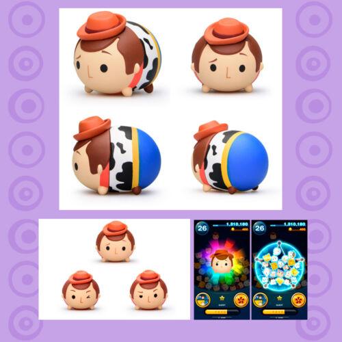 Arcade Game Konami Disney Tsum Tsum Strap Figurine Woody Toy Story Gachapon