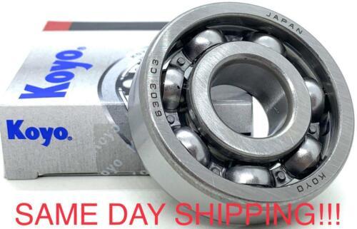 KOYO 6303 C3 Open Deep Groove Ball Bearing 17x47x14mm SAME DAY SHIPPING!!!