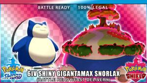 Shiny snorlax pokemon go