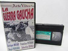 VHS - LA GUERRA GAUCHA 1999 Arte Video  Lucas Demare, War in Northwest Argentina