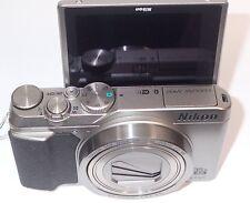 Nikon COOLPIX A900 20.0-Megapixel Digital Camera Silver Brand New Sealed
