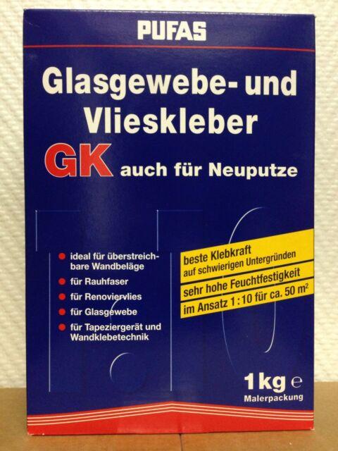 Glasfasertapete kleber Glasfaser tapete Glasfaser gewebe in Pulverform 1 kg