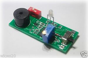 Battery-low-voltage-warning-w-Buzzer-Adjustable-Lithium-NiMH-NiCD-ion-phosphate