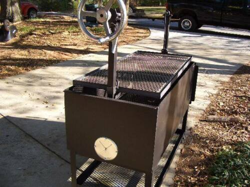 REALLY FAST BBQ DAMPER,SMOKER GRILLS,DAMPER VENT 8 INCHES  WE SHIP FAST