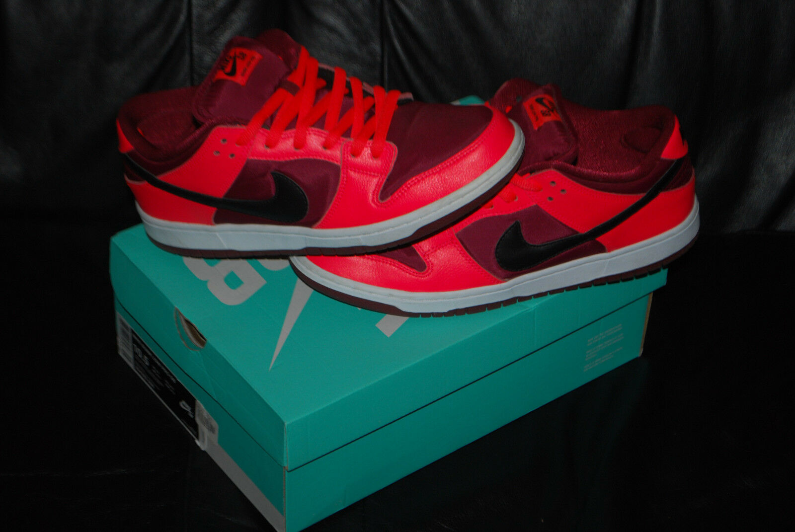 männer - nike sb dunk low team pro laser - / team low red shoes (10,5) 304292 ‑ 606 5acf24