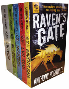 Anthony-Horowitz-Power-of-Five-Collection-5-Books-Set-Raven-039-s-Gate-Evil-Star