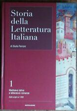 Storia della letteratura italiana Vol.1 - AA.VV. - Mondadori,2006 - R