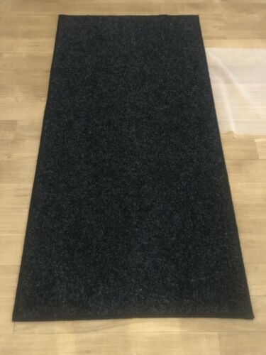 Heavy Duty None slip Mats Runners Rugs 6ft X 2ft Black