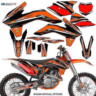 FITS KTM 2002 SX 125 250 380 400 520 GRAPHICS KIT DECO DECALS STICKERS SENGE