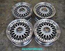 """JDM 15"""" Linea Sport MESH Rims Wheels 4x114.3 AE86 FC3S S13 RX7 CB7 CB3 ITR DC2"""