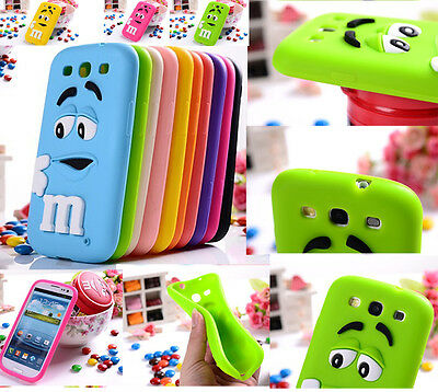 Silicone 3D Cartoon Animals Soft Rubber Case Cover For Samsung Galaxy Phones