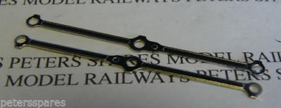 Hornby H6 Class A1 / A3 Coupling Rods (pair) Bright Metal Essere Distribuiti In Tutto Il Mondo