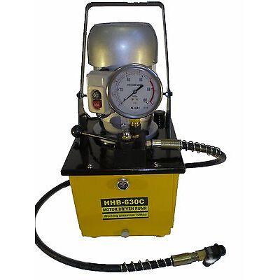 Electric Driven Hydraulic Pump 10000 PSI (Single acting manual valve) B-630C