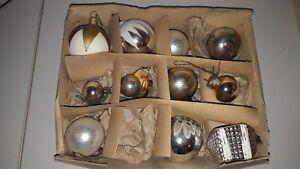 Ddr Christbaumschmuck Weihnachtsbaumkugeln Weihnachtskugeln