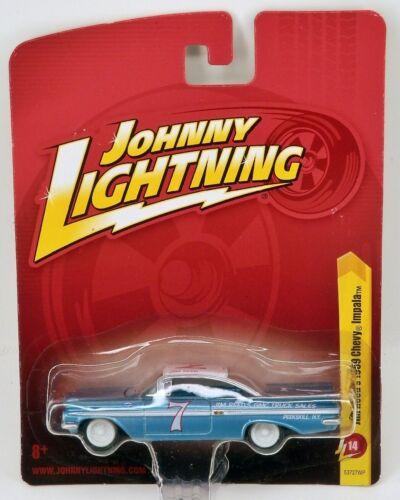 Johnny Lightning 1959 Chevrolet Impala Vintage Race Car #7 /'59 Chevy 1//64 Scale