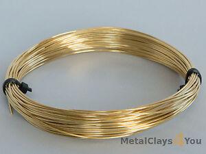 Unplated-Soft-Brass-Round-Wire-0-4mm-to-2-0mm