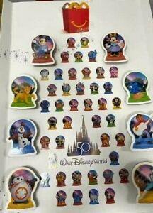 2021 McDonald's Disney's 50th Anniversary Walt Disney World Happy Meal Toys!