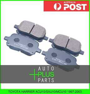 Fits-TOYOTA-HARRIER-ACU10-SXU10-MCU10-1997-2003-Pad-Kit-Disc-Brake-Front