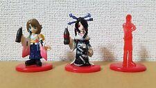 Final Fantasy Coca Cola Collaboration Promo Figure lot Yuna, Lulu & Quistis MINT
