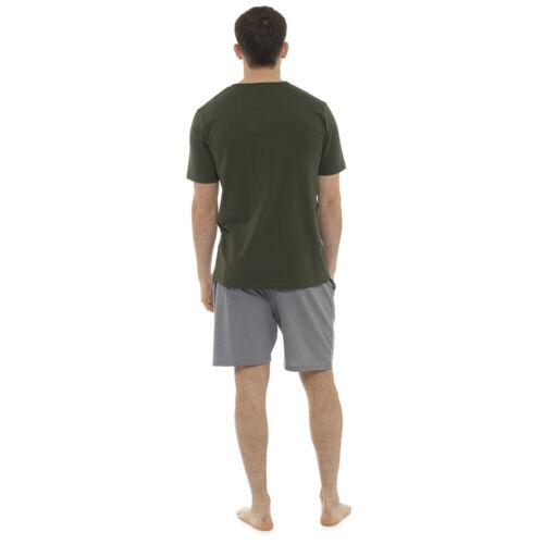 Mens Pyjamas Shorts Set Mens Sleep Shorts