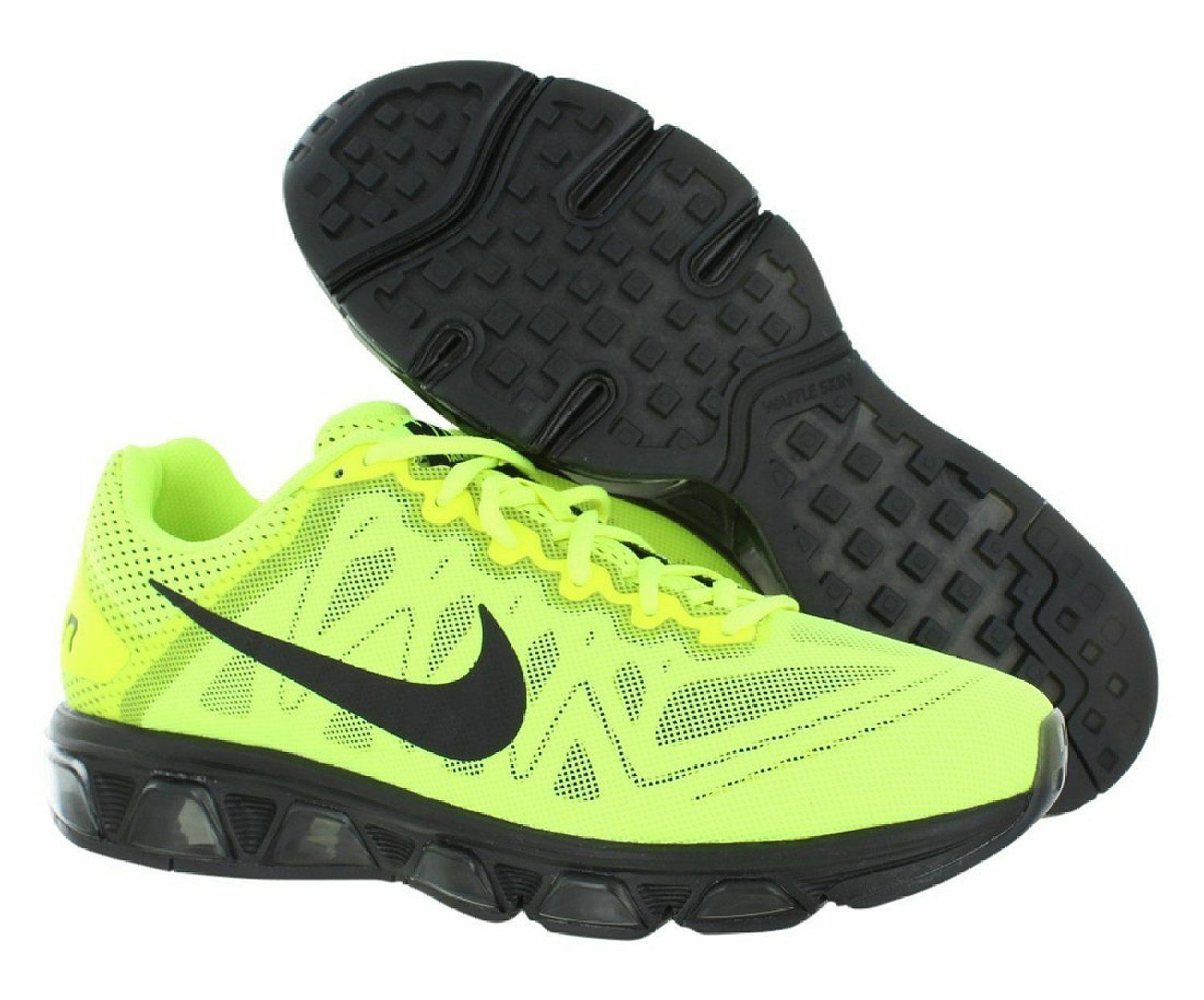 Nike Men Air MAX Tailwind 7 Black VOLT Athletic Running shoes -- sz 11 -- NEW
