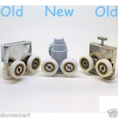 1 x Spare Shower Door Bottom Roller /Runners/Wheels/Rollers 21mm wheel Merlyn E4