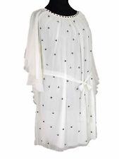 ZAY by ZIZZI Tunika  Größe 46 - 48  Creme-weiß mit Pailletten  UVP 69,95 €  SALE