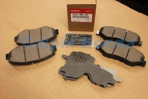 Genuine OEM Honda Accord 4 Cylinder Front Brake Pad Set 2003-2007  45022-SDA-315
