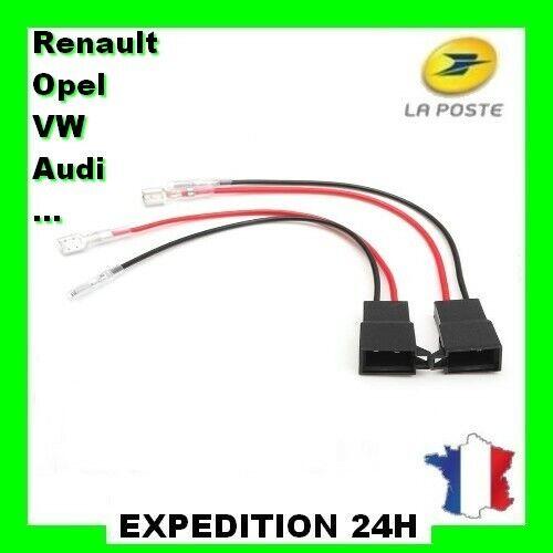 Renault Megane MK1 1996 Adaptateur Haut Parleur Câble Prise Connecteur Paire GZ®
