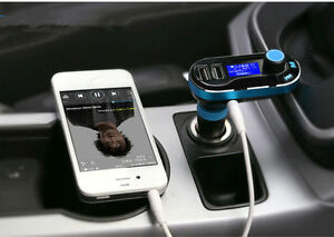 USB-LCD-AUX-IN-Audio-Car-Kit-MP3-Player-FM-Transmitter-Charger-For-iphone-ipod