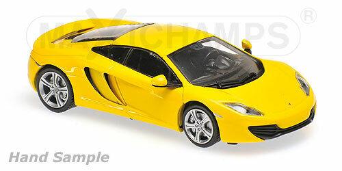 2011-Yellow Minichamps 1:43 mclaren 12c