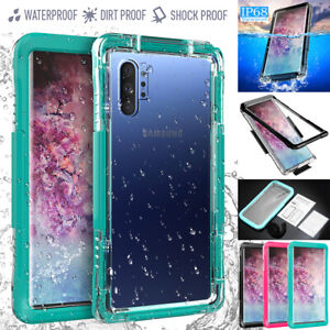 Samsung Galaxy Note 10+ Plus Waterproof Shockproof Diving Underwater Case Cover