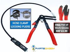 Flessibile lungo REACH bloccaggio del tubo flessibile Pinza Rimozione PINZE Strumento Cricchetto Clip Band caratteristiche