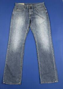 Chevignon-57-jeans-uomo-usato-W34-L34-tg-48-gamba-dritta-slim-boyfriend-T5277