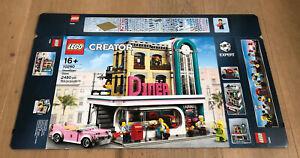 LEGO 10260 Creator Expert Amerikanisches Diner Leerkarton/Box/Ovp NEU