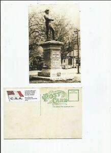 Confederate-monument-commemoratif-de-Rockville-dans-le-Maryland-CARTE-POSTALE