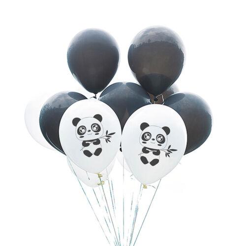 10pcs Panda Balloons Latex Balloon Baby Shower Birthday Party Decoration~ UL