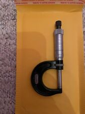 New Listingstarrett 436 1 Inch Outside Micrometer