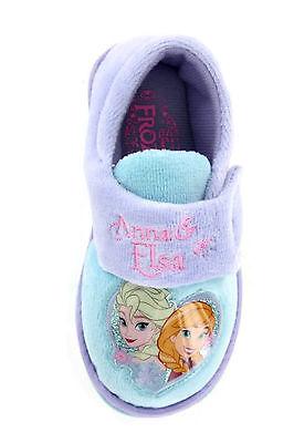 Chicas Disney Frozen Elsa Anna Olof Zapatilla Zapato Lila Aqua Niño Talla 4-13