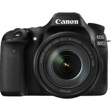 Canon EOS 80D 24.2 MP CMOS DSLR Camera w/ EF-S 18-135mm f/3.5-5.6 IS USM Lens