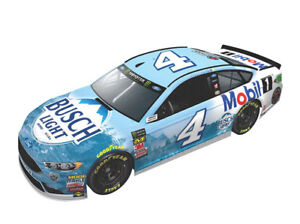 Lionel Racing Kevin Harvick Elite 2019 Brickyard Indianapolis Win Mobil 1 Raced Version NASCAR Diecast Car 1:24 Scale
