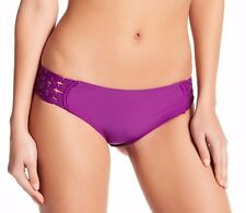 NEW MIKOH 'Tamarindo' Bikini Bottoms Size M Sea Urchin Purple $161
