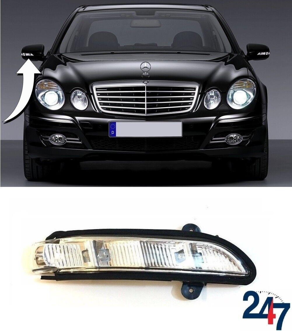 Neu Mercedes Benz E W211 2006-2009 Außenspiegel Blinker Richtige O O O S 277f9e