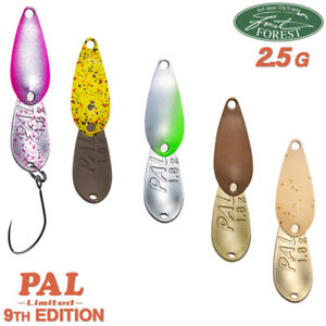 Forest MIU 2.2 g 26 mm Area Trout Spoon Assorted Colors