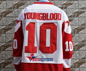 Image is loading Dean-Youngblood-Movie-Hockey-Jersey-Mustangs-Rob-Lowe- b0dea99d31