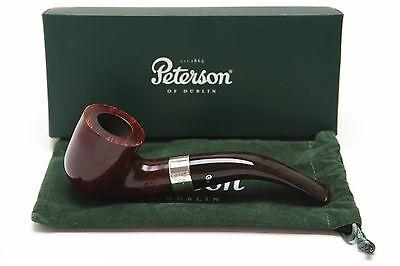 Peterson Harp 01 Tobacco Pipe Fishtail