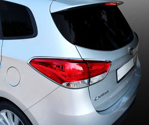 All New Carens Chrome Rear Tail Light Lamp Molding Cover For Kia Rondo