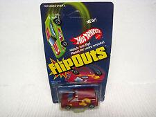 1985 Hot Wheels Flip Outs Capsider #2284 Red Van in Sealed Pack