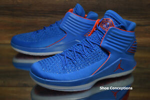 new style c9529 91d97 Image is loading Nike-Air-Jordan-XXXII-Basketball-Shoes-Signal-Blue-